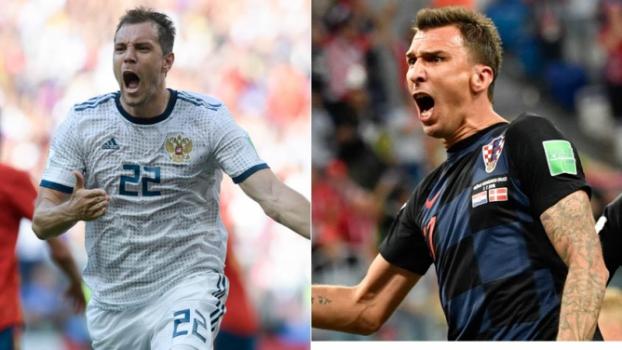 Rússia x Croácia  tudo sobre o jogo pelas quartas de final da Copa 1c5c4cd510bf9