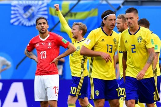 Suécia x Suíça