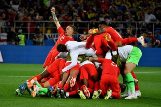 Colômbia x Inglaterra