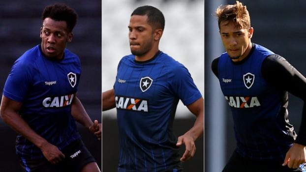 Montagem Moisés + Yago + Jean (Botafogo)