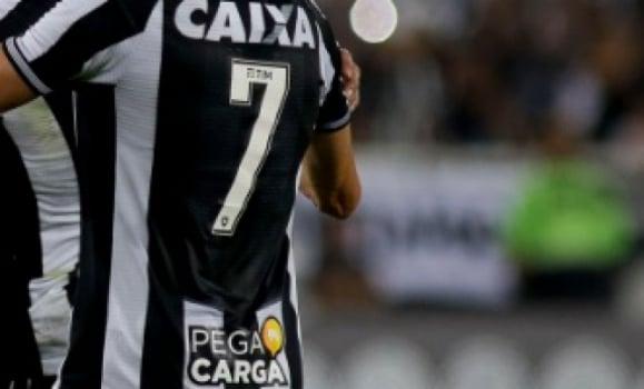 Mística camisa 7 do Botafogo é a mais rodada no elenco em 2018  68fa32ac33e0e