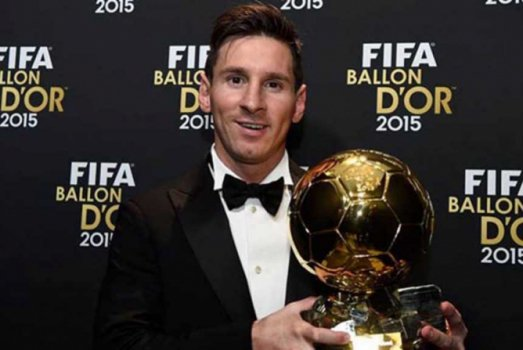 Lionel Messi - 2015 (no Fifa Ballon D'Or)