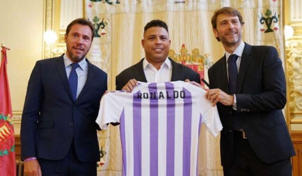 Fenomenal! Saiba a influência de Ronaldo no surpreendente Valladolid ... c65dba0febcc3