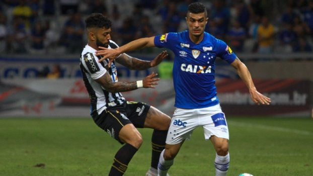 Cruzeiro vence Santos no Mineirão e encerra sequencia de vitórias do time paulista