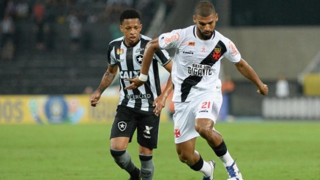 4acb25e708 Botafogo e Vasco empatam pela primeira vez no ano e se complicam ...