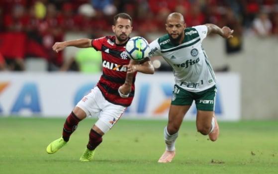 Flamengo x Palmeiras - Felipe Melo