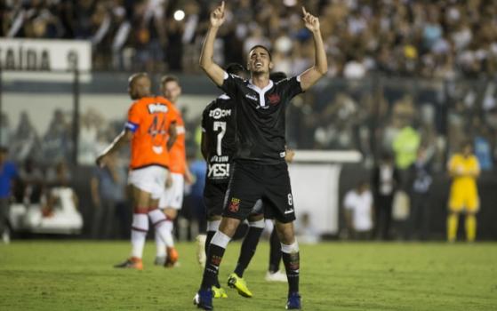 Vasco x Atlético-PR - Thiago Galhardo