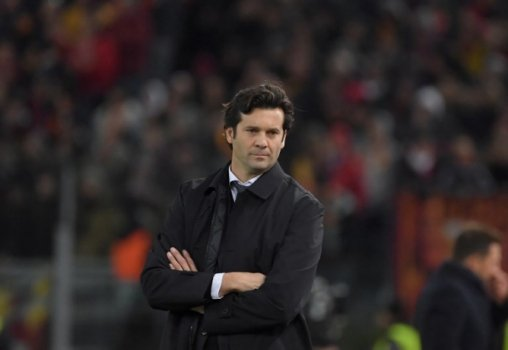 roma x real madrid - solari