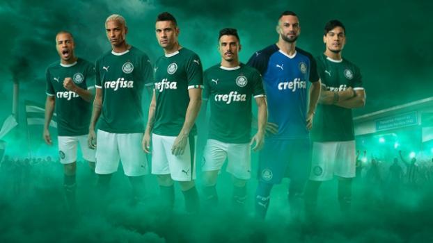 Palmeiras lança camisa da Puma com campanha  verde é a cor da inveja ... 5f3ee47b6742d