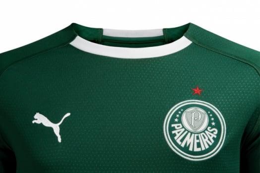 Palmeiras lança camisa da Puma com campanha  verde é a cor da inveja ... 3f47def49ff19