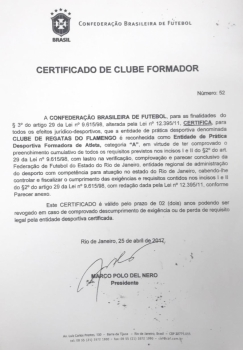 Documentos Flamengo