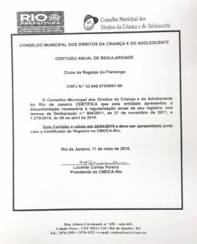 Documentos Flamengo