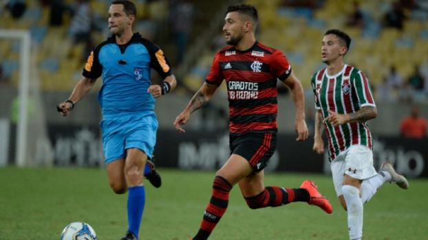 Flamengo x Fluminense Arrascaeta