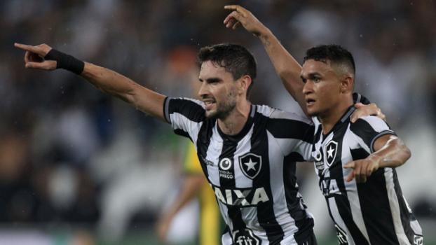 Botafogo x Cuiabá Pimpão e Erik
