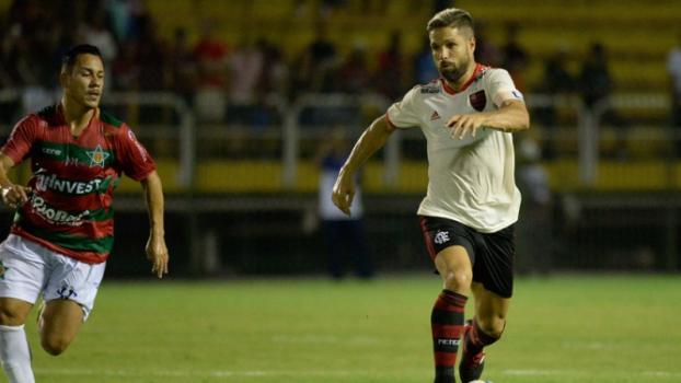 Portuguesa x Flamengo Diego