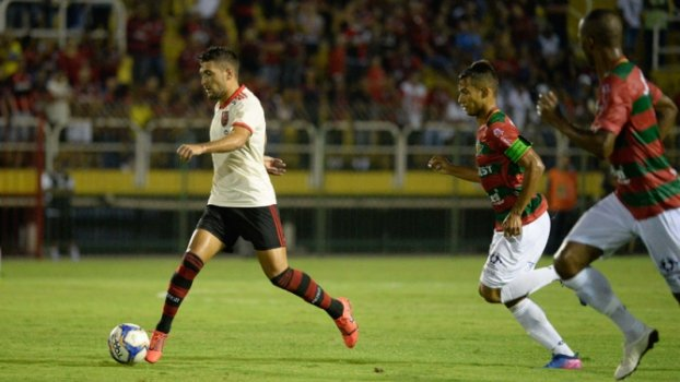 Portuguesa x Flamengo Arrascaeta