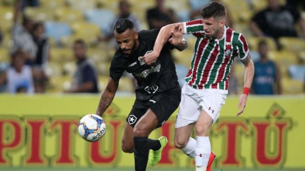 Fluminense x Botafogo Alex Santana