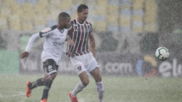 Fluminense x Luverdense Ganso (Chuva)