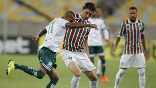 Fluminense x Luverdense Matheus Ferraz