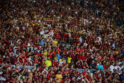 Flamengo x San José-BOL - Torcida