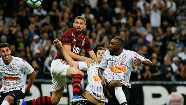 Corinthians x Flamengo Manoel e Leo Duarte