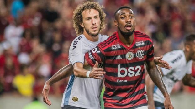 Flamengo x Grêmio - Galhardo e Gerson