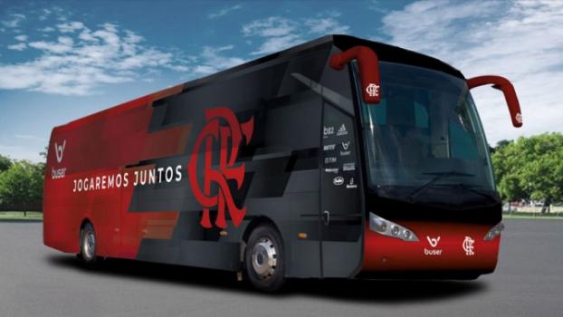 Novo Ônibus do Flamengo