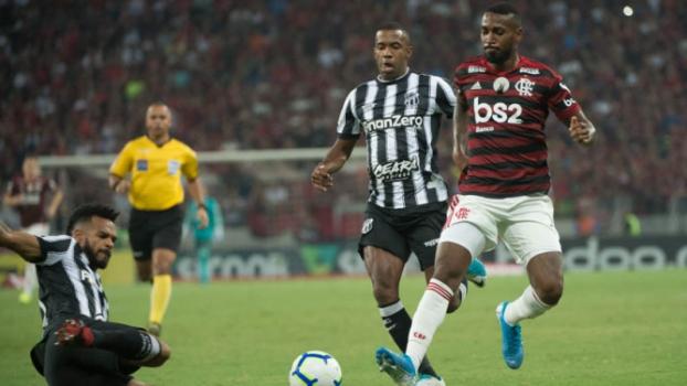 Ceará x Flamengo - Gerson