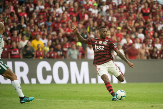 Flamengo x Palmeiras - Gerson