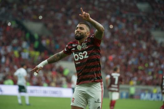 Flamengo x Palmeiras - Gabigol