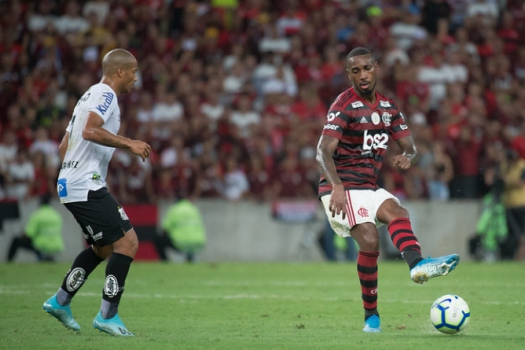Flamengo x Santos - Gerson