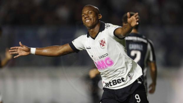 Vasco x Botafogo - Ribamar comemora seu gol