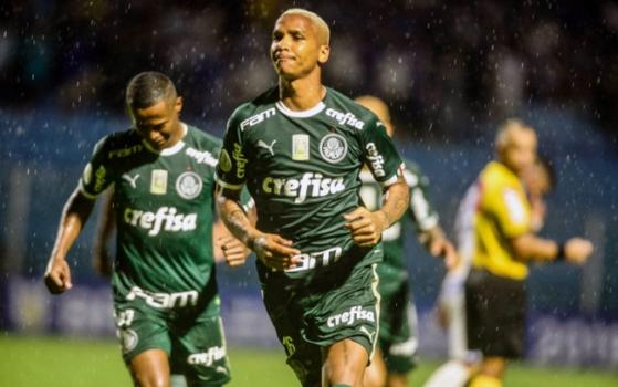 Avaí x Palmeiras - Comemoração
