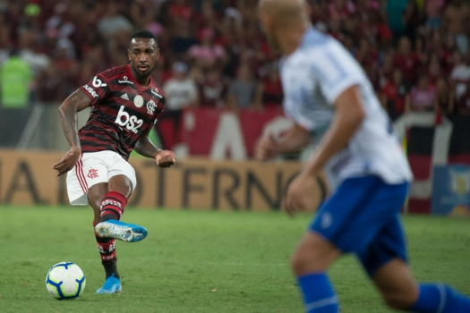 Flamengo x CSA - Gerson