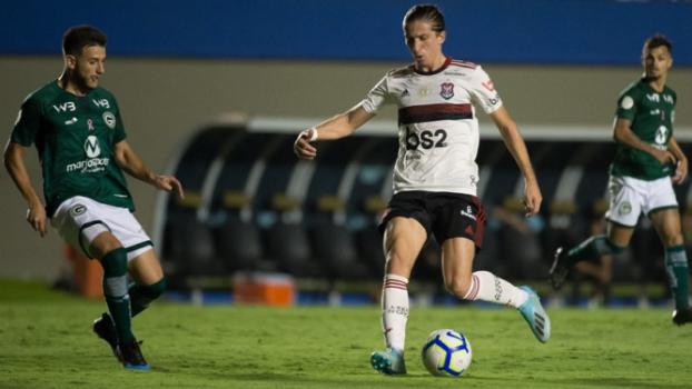 Flamengo E Goias Empatam E Vantagem Na Lideranca Diminui Lance