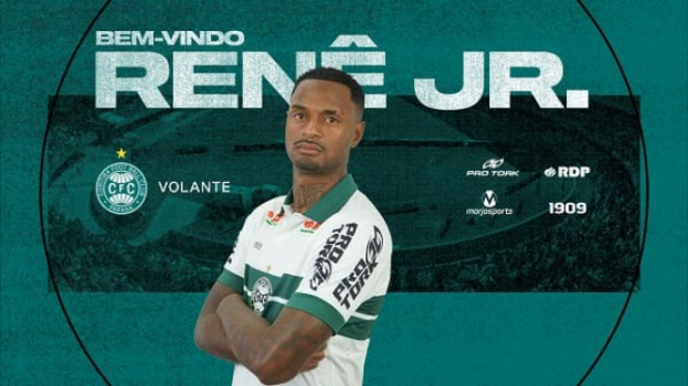 Renê Júnior no Coritiba