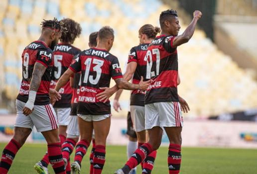 Flamengo x Volta Redonda - Comemoração