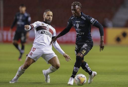 Independente Del Valle x Flamengo - Disputa