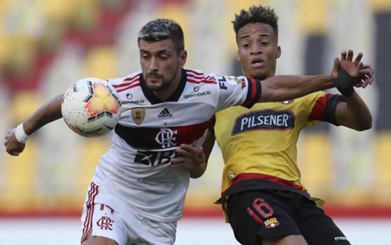 Barcelona SC x Flamengo - Arrascaeta