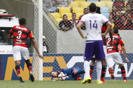 Flamengo derrota o Orlando City no Maracanã (foto:Wagner Meier/LANCE!Press)