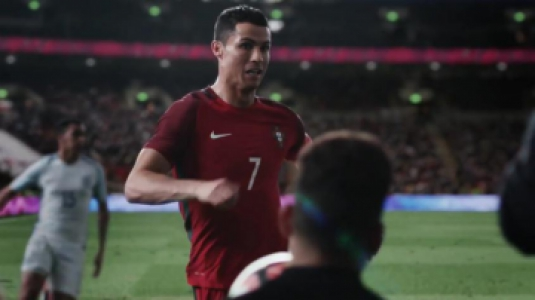 CR7 comercial Nike