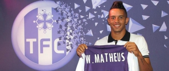 William Matheus, do Toulouse-FRA