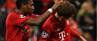 Alaba e Muller - Bayern de Munique x Atletico de Madrid