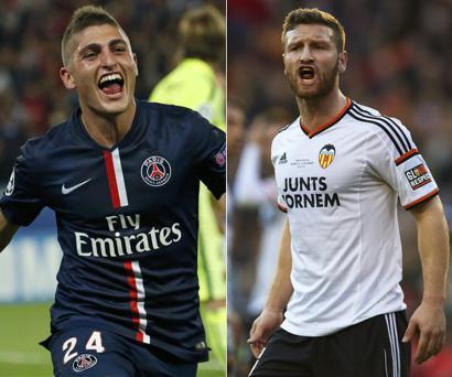 Barcelona tem interesse em Verrati e Mustafi para a próxima temporada