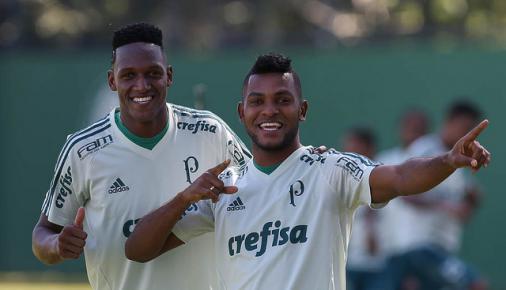 Mina e Borja são convocados e desfalcarão o Palmeiras no Brasileiro