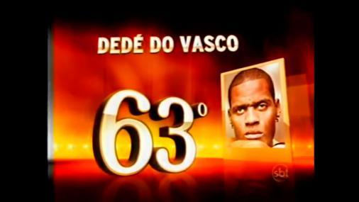 Dedé gigante há anos! Zagueiro é um dos maiores brasileiros de todos os tempos