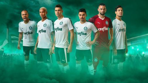 17b8ce618a Palmeiras lança camisa da Puma com campanha  verde é a cor da inveja ...