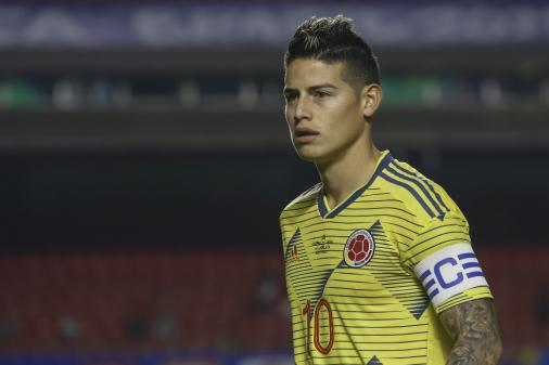 James comanda a Colômbia e quer mais que a classificação às quartas
