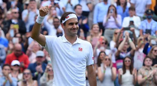 O pior ficou para trás, afirma Federer sobre lesão no joelho