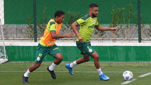 Com Jorge em campo, Palmeiras inicia preparação para enfrentar Chapecoense